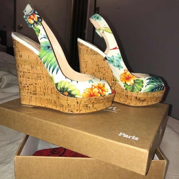 0ebdc1f303a3 Christian Louboutin Shoes - Christian Louboutin UNE PLUME WEDGES